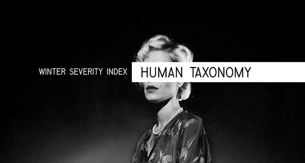 "Winter Severity Index, ""Human Taxonomy"""