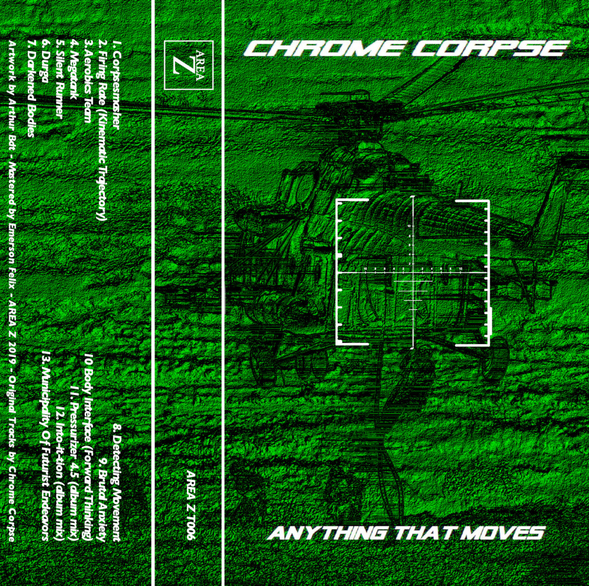 Chrome Corpse - Anything That Moves